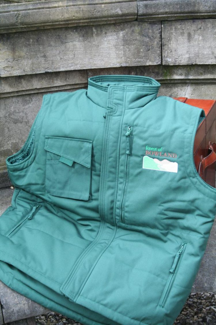 Forest of Bowland Teal Gilet